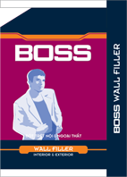 BOSS WALL FILLER INTERIOR & EXTERIOR