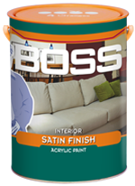 BOSS INTERIOR SATIN FINISH