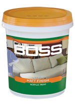 BOSS INTERIOR MATT FINISH