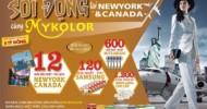 SÔI ĐỘNG TẠI NEWYORK & CANADA CÙNG MYKOLOR